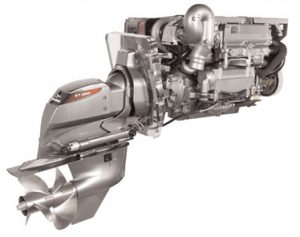 Yanmar 4BY2-180Z (Sterndrive Engine)