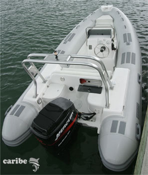 Caribe DL17 Inflatable Boat